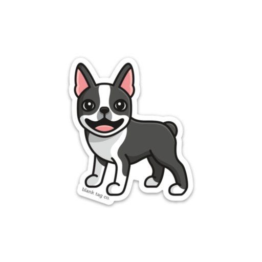 The Boston Terrier Sticker