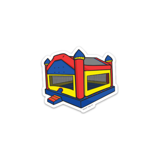 The Bouncy House Sticker