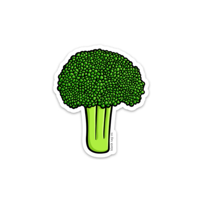 The Broccoli Sticker