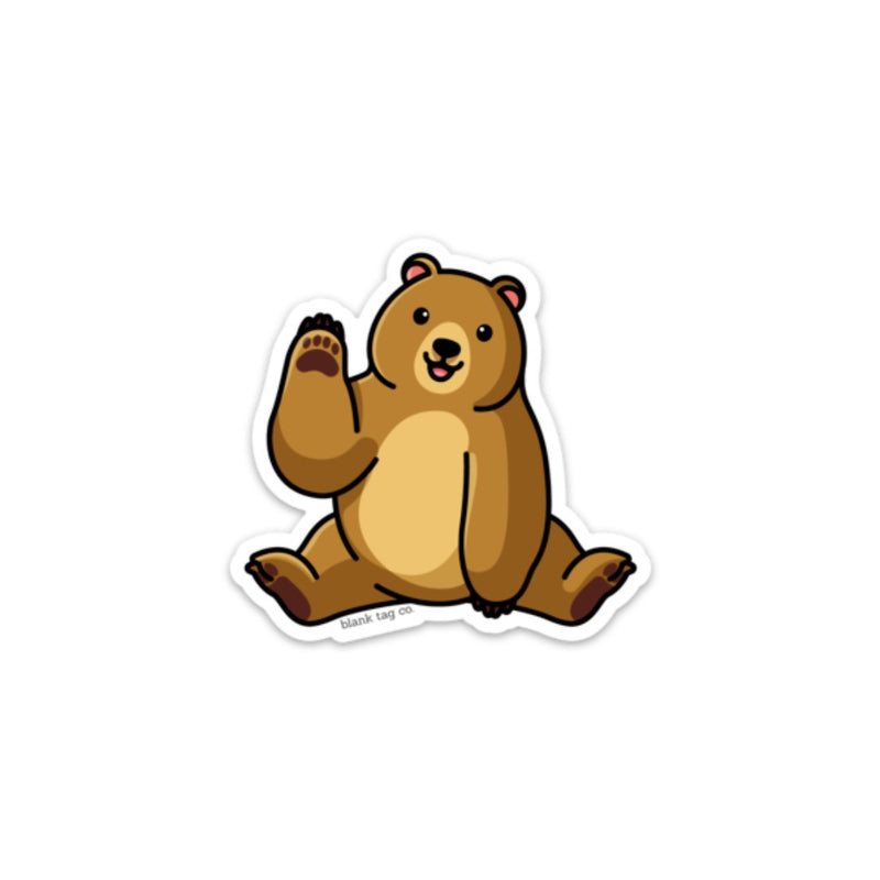 The Brown Bear Sticker