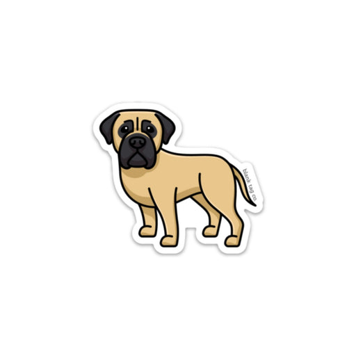 The Bullmastiff Sticker
