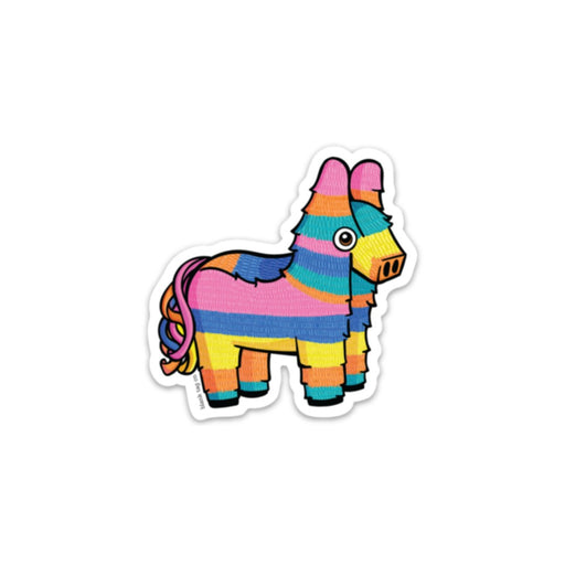 The Burro Piñata Sticker
