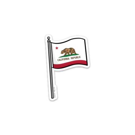 The California Flag Sticker