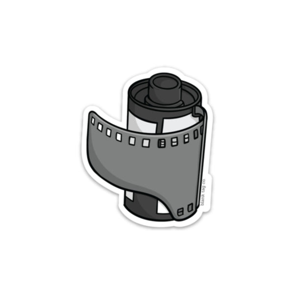 The Camera Film Roll Sticker