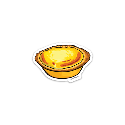 The Cheese Tart Sticker