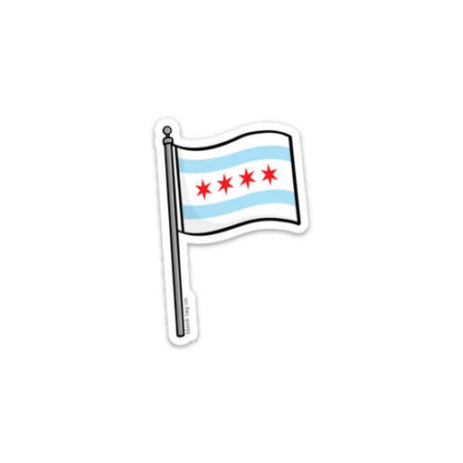 The Chicago Flag Sticker