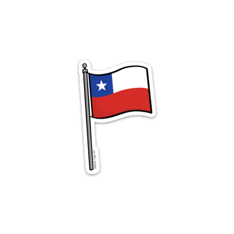 The Chile Flag Sticker