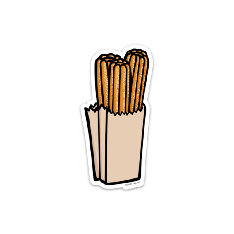 The Churros Sticker