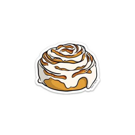 The Cinnamon Bun Sticker