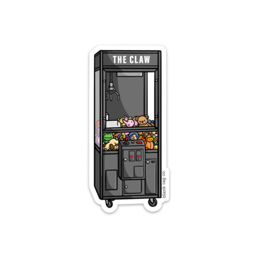 The Claw Machine Sticker