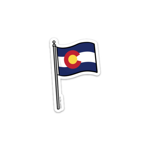 The Colorado Flag Sticker