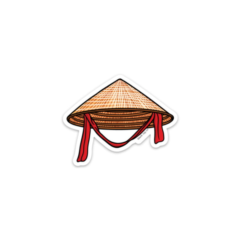The Conical Hat Sticker