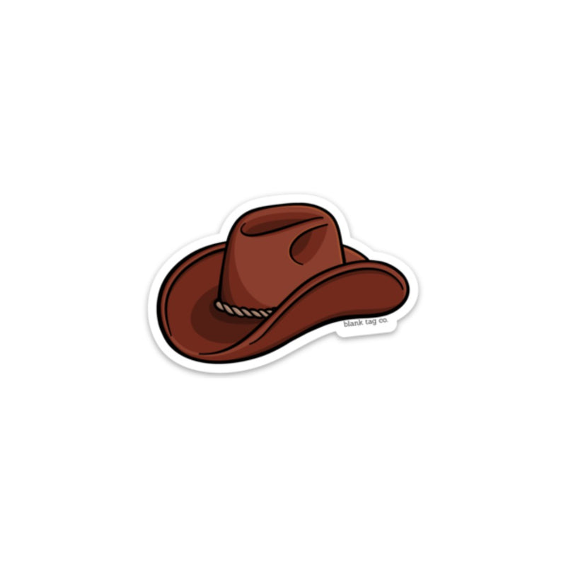 The Cowboy Hat Sticker