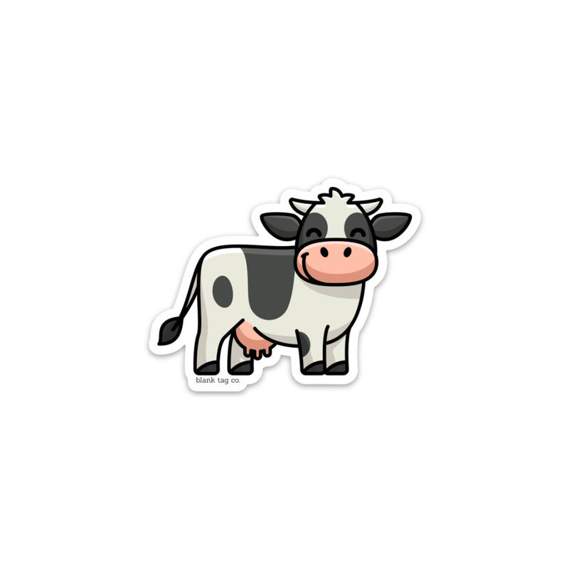 The Dairy Cow Sticker