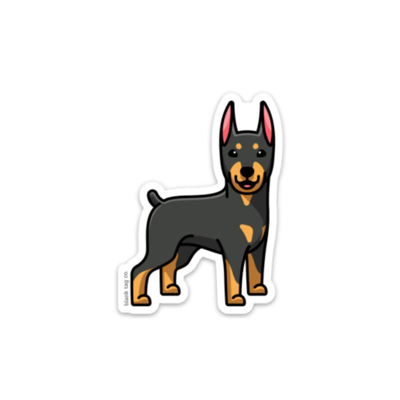 The Doberman Pinscher Sticker