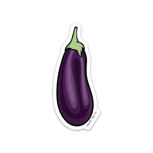 The Eggplant Sticker
