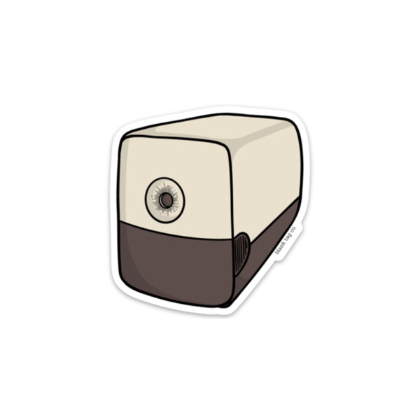 The Electric Pencil Sharpener Sticker