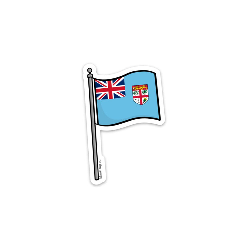 The Fiji Flag Sticker