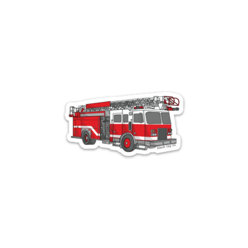 The Firetruck Sticker