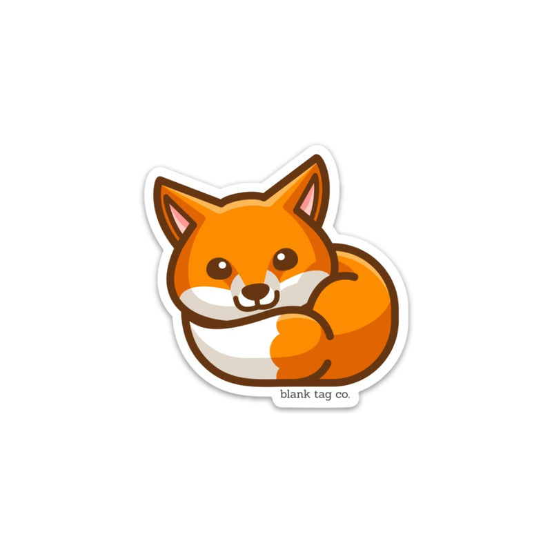 The Fox Sticker