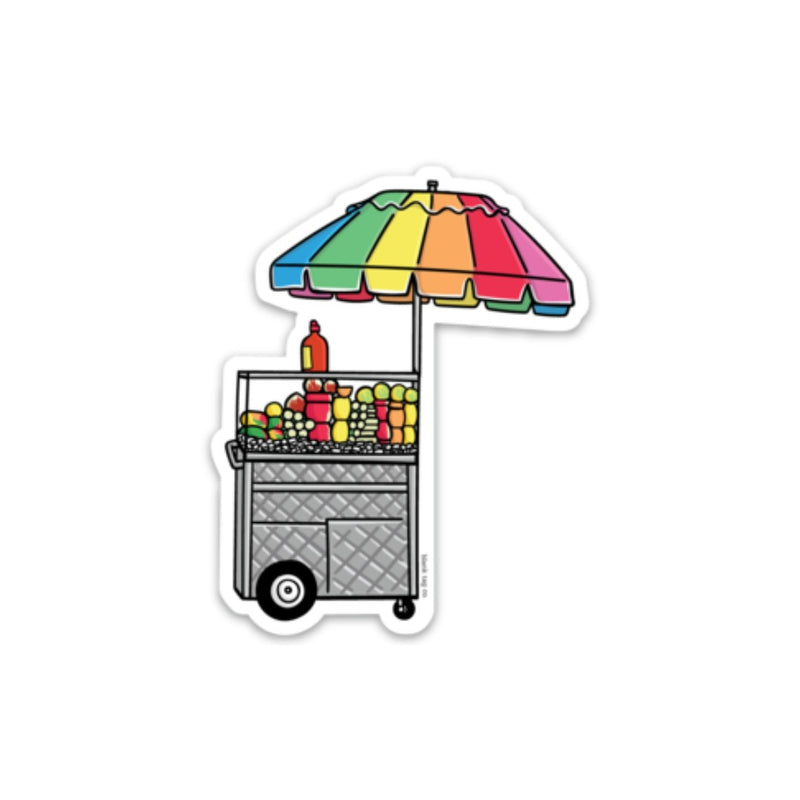The Frutero Cart Sticker