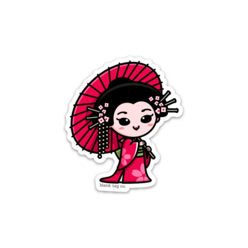 The Geisha Sticker