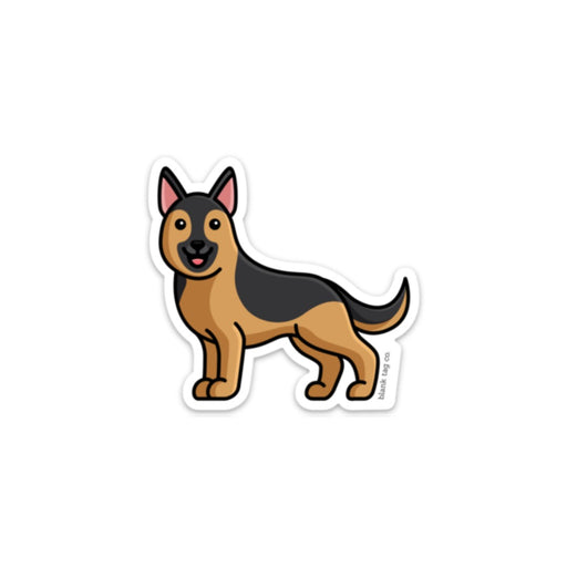 The German Shepherd Sticker