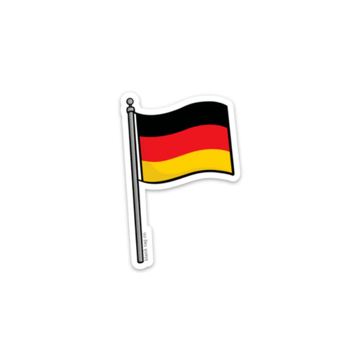 The Germany Flag Sticker
