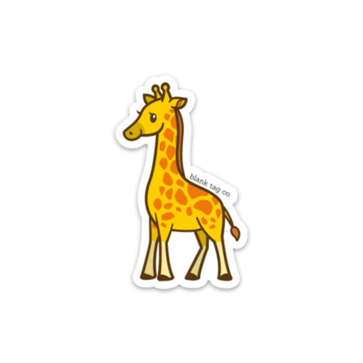 The Giraffe Sticker