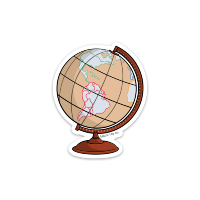 The Globe Sticker