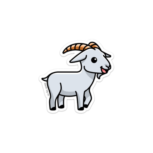The Goat Sticker
