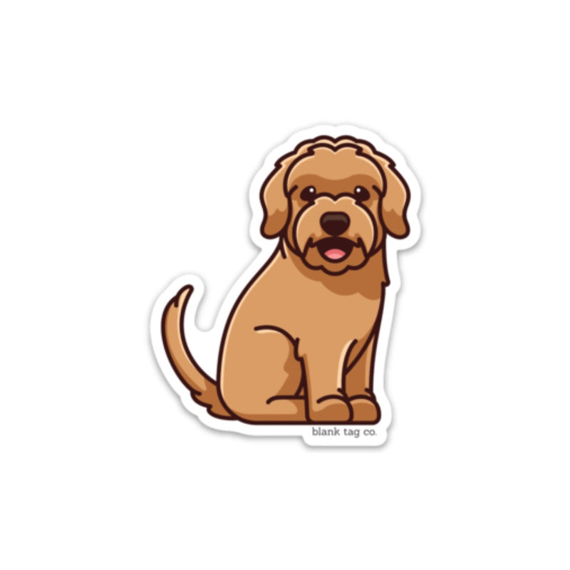 The Goldendoodle Sticker