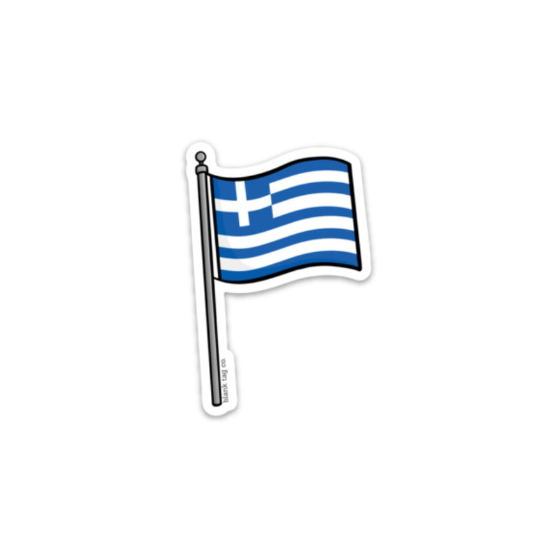The Greece Flag Sticker