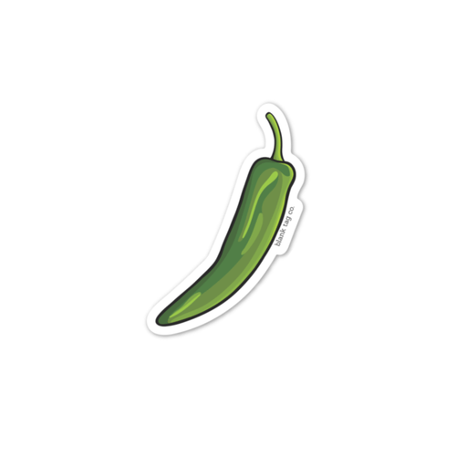 The Green Chile Sticker