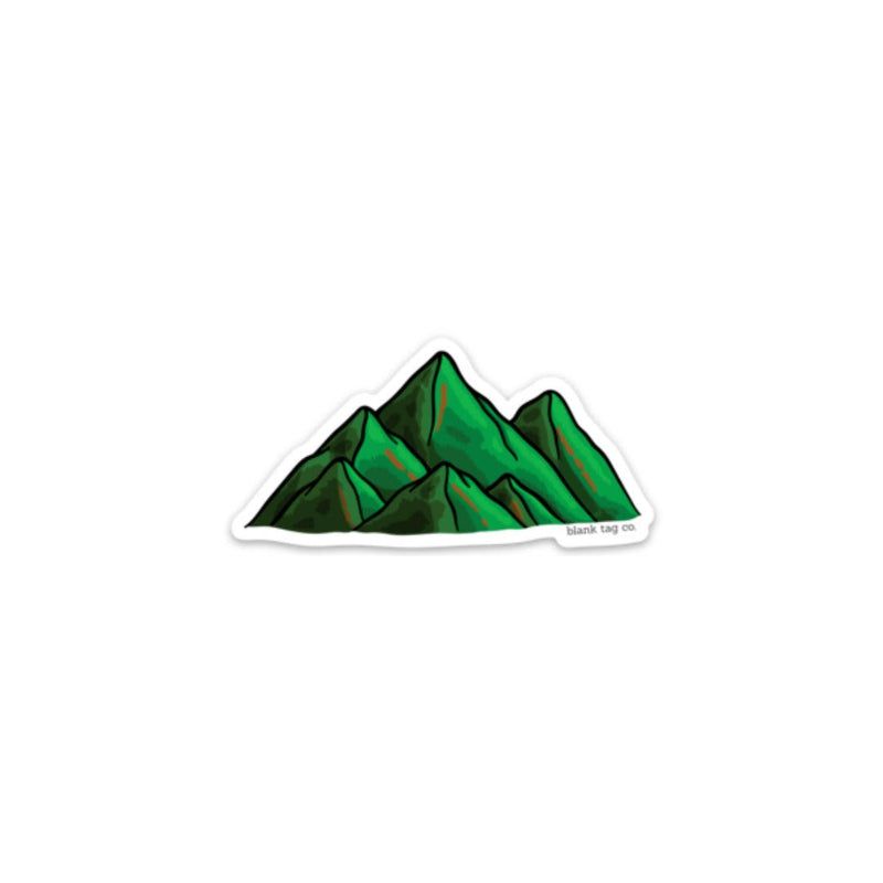 The Green Mountains Sticker