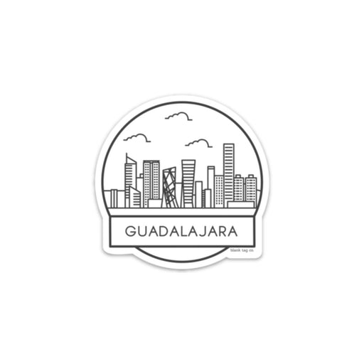 The Guadalajara Cityscape Sticker