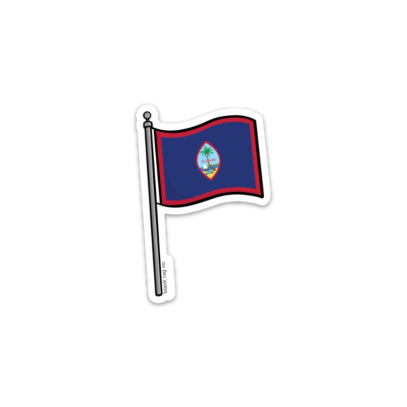 The Guam Flag Sticker