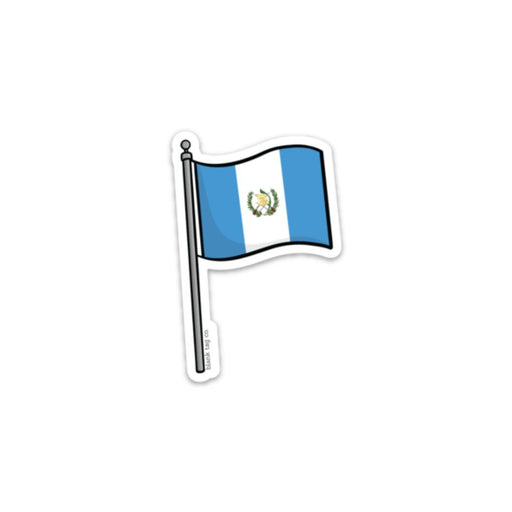 The Guatemala Flag Sticker