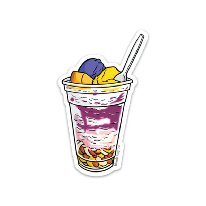 The Halo Halo Sticker