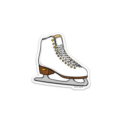 The Ice Skate Sticker