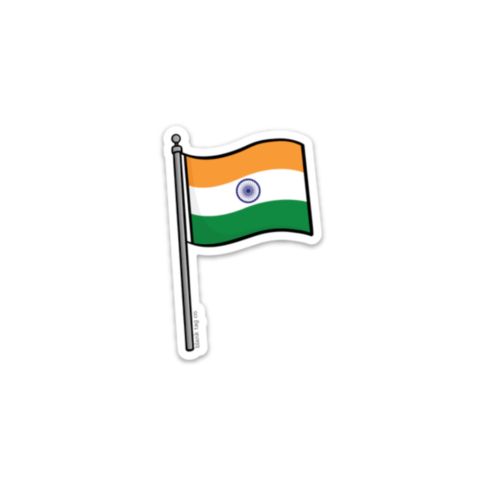 The India Flag Sticker