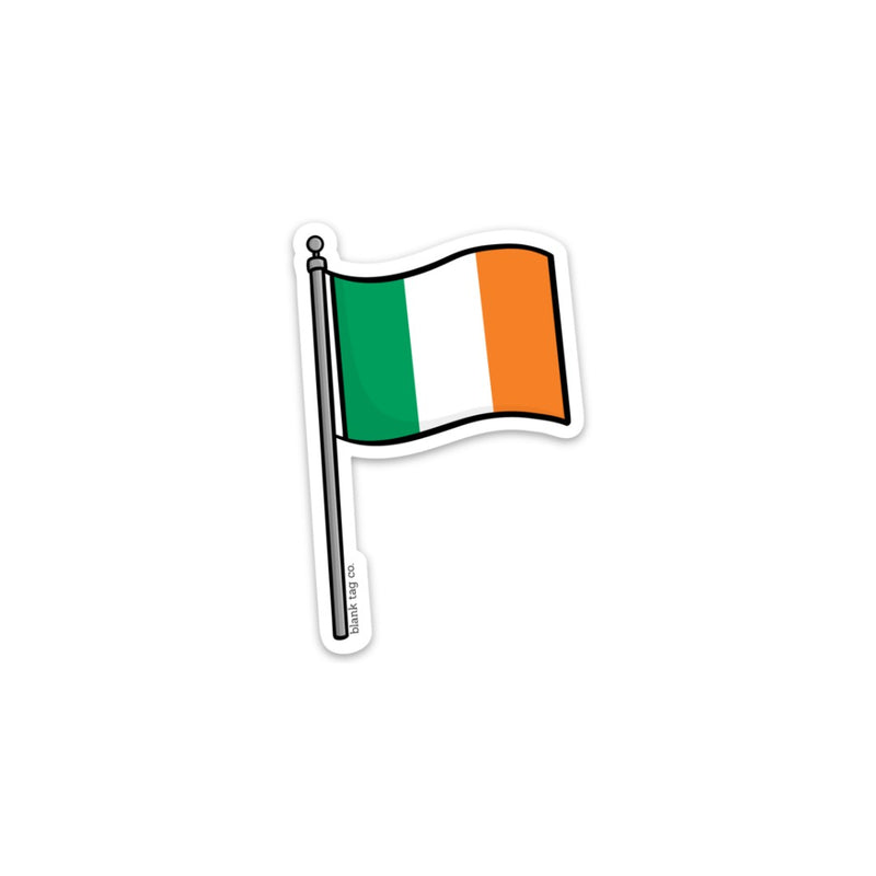 The Ireland Flag Sticker