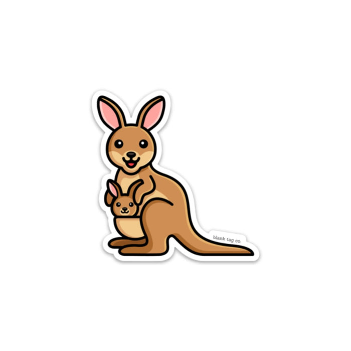 The Kangaroo Sticker