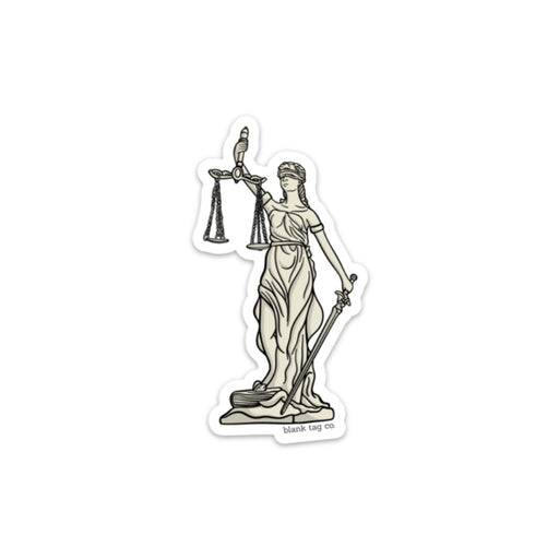 The Lady Justice Sticker