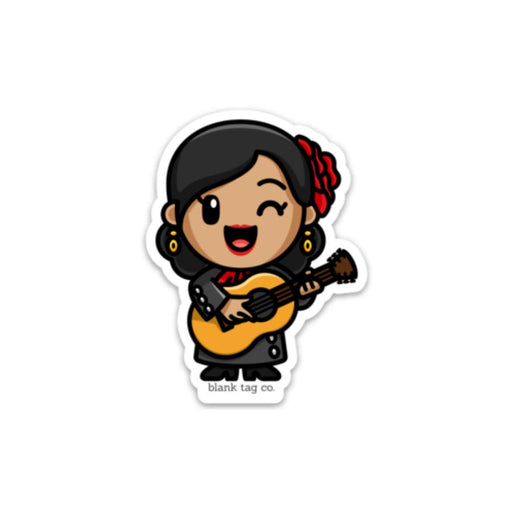 The Lady Mariachi Sticker