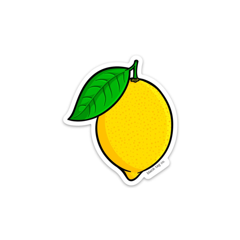 The Lemon Sticker