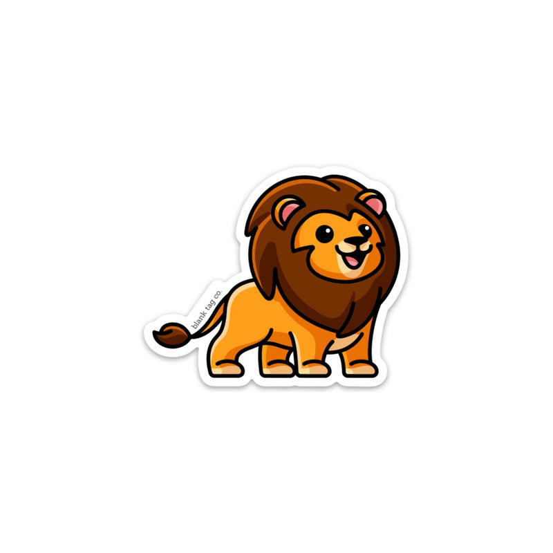 The Lion Sticker