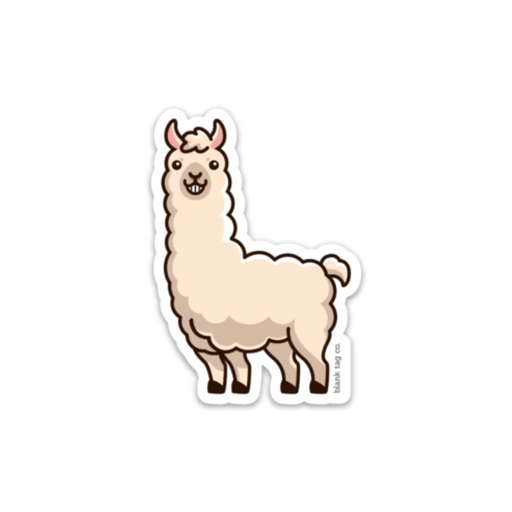 The Llama Sticker
