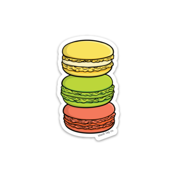 The Macaroons Sticker