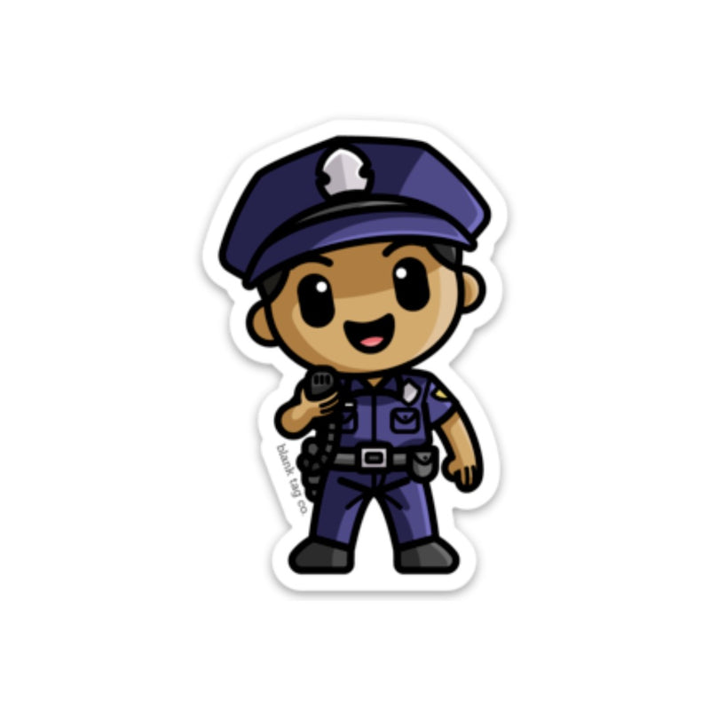 The Male Police Officer